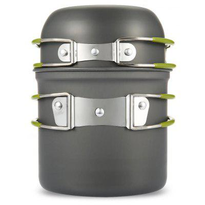 Outdoor Camping Hiking Backpacking Pot Pan Set