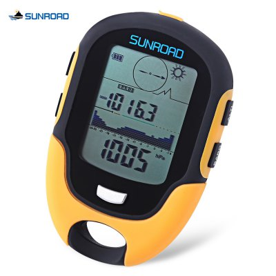 SUNROAD Multifunctional Digital Compass Altimeter Barometer