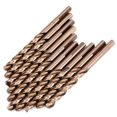 M35 10PCS High Speed Steel Triangle Shank Drill Bit