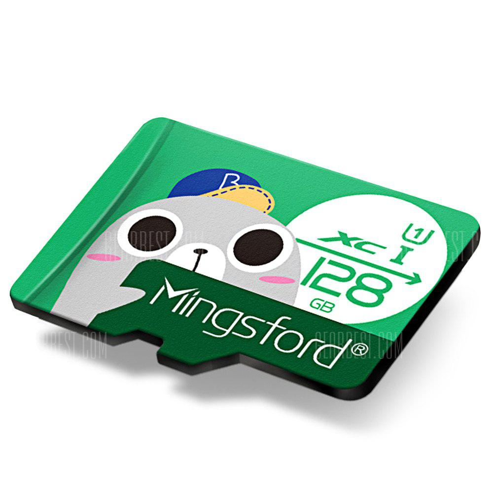 Mingsford 8G / 16G / 64G / 128G High Speed Micro SD / TF Storage Card - GREEN 128GB