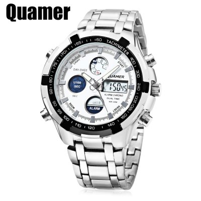 Quamer SD - 165 Dual Movt Male Watch