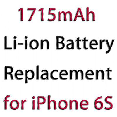 1715mAh Rechargeable Battery for iPhone 6S