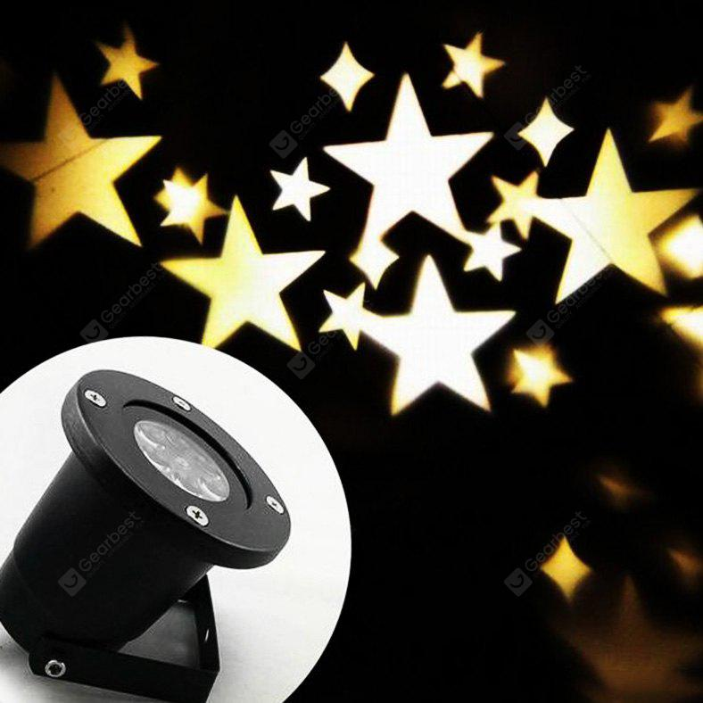 BLACK LED Star Projector Lamp