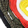 10M 7 Strand Parachute Cord String Tent Tying Rope - ARMY GREEN CAMOUFLAGE