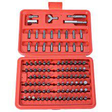 100pcs Bit Screw Driver Washer Sleeve Combination