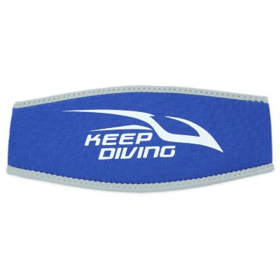 KEEPDIVING Long Hair Diving Swimming Head Strap