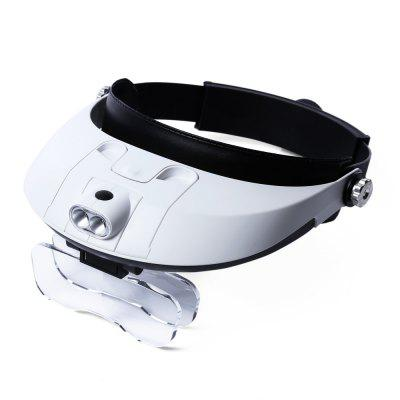 81001 - G 2 LED Headband Magnifier