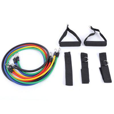 LEAJOY 11pcs / Set Elastic Training Pull Rope