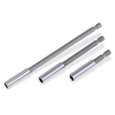 3pcs 1/4 Inch Extension Bar
