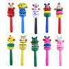 Baby Wooden Hand Bell Toy - COLORMIX