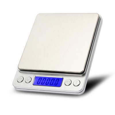 i2000 3kg 0.1g Mini Digital Scale with Tray