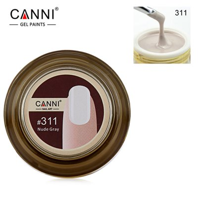CANNI Removable 15ml Natural Phototherapy UV Nail Glue Polish