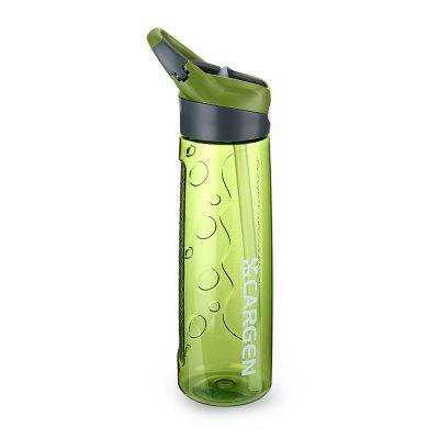 CARGEN 87006M 750ML Multifunctional PC Straw Water Bottle Tea Water Cup