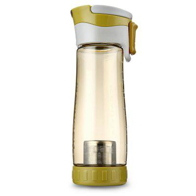 CARGEN TR71004 600ML Portable Sports PC Tea Water Bottle