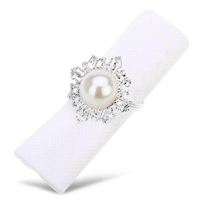 12pcs Pearl Napkin Ring