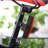 Bike Safety Taillight USB Rechargeable Flash - RED WITH BLACK