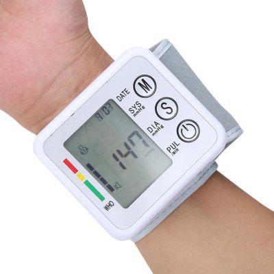 Automatic Wrist Blood Pressure Pulse Monitor