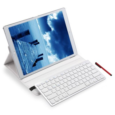 Wireless Bluetooth Keyboard Rotating Case for iPad Pro 12.9 Inch