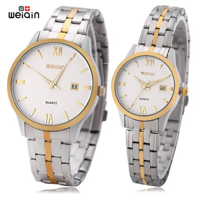 WeiQin W00109B Couple Quartz Watch