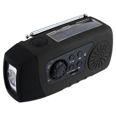 N29TF Solar Crank Radio Flashlight