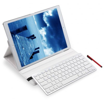 Wireless Bluetooth Keyboard Rotating Case for iPad Pro / New iPad Pro 2017 12.9 Inch
