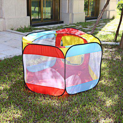 Kids Portable Foldable Ocean Ball Tent Playhut Playhouse