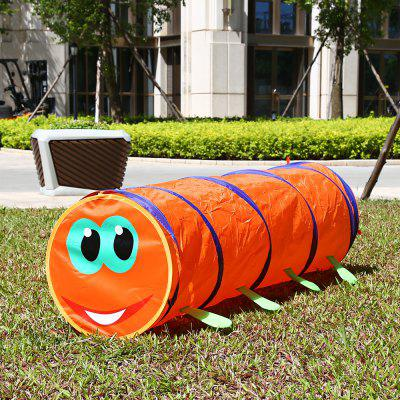 1.5M Folding Kids Caterpillar Tunnel Tube Play Tent Toy
