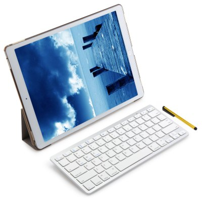 4 in 1 Wireless Bluetooth Keyboard Case for iPad Pro 12.9 Inch