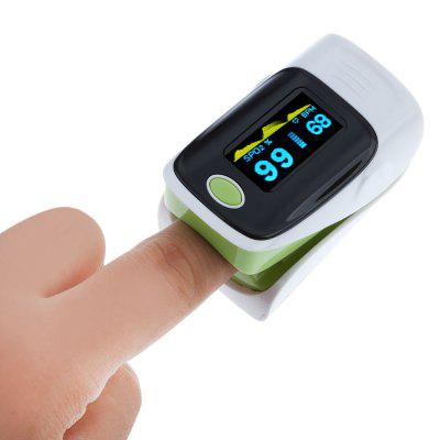 Digital Fingertip Pulse Oximeter Health Monitoring Display