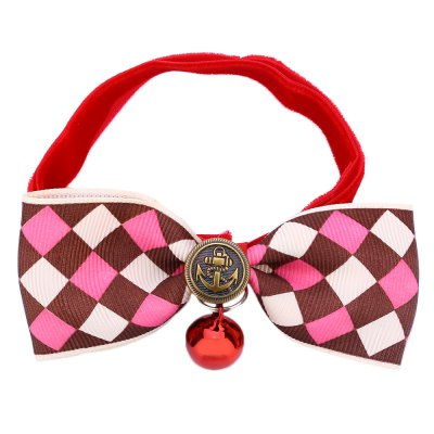 Pet Bowknot Collar