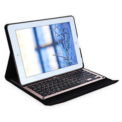 Ultra Thin LED Wireless Bluetooth Keyboard Case for iPad Pro 12.9 Inch