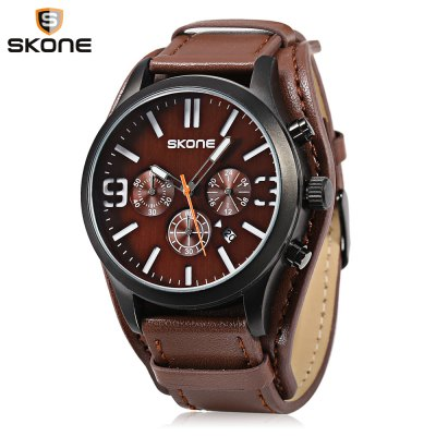 SKONE 9449EG Male Quartz Watch