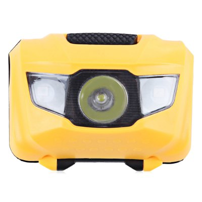 3-LED Bike Front Light Flash Rear Lamp Warning Equipment