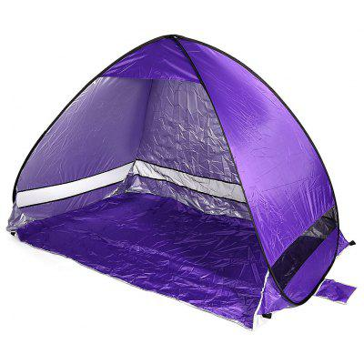 Buy PURPLE Quick Opening Beach Tent Shade Tabernacle Outdoor Tool for $22.05 in GearBest store