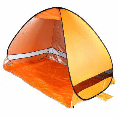 Buy ORANGE Quick Opening Beach Tent Shade Tabernacle Outdoor Tool for $17.13 in GearBest store