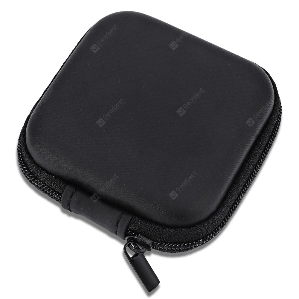 Portable Earphone Cable Sundry Storage Pouch
