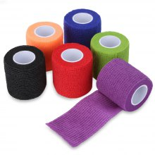6pcs Tattoo Self Adhesive Elastic 5cm Wide Sports Bandage