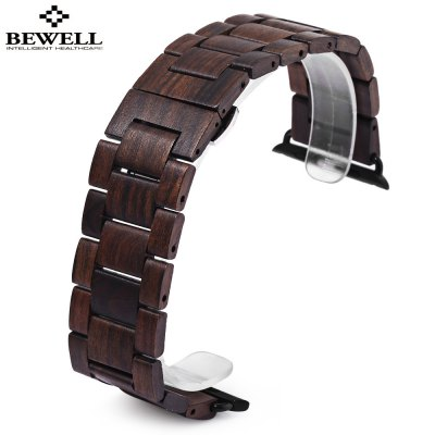 BEWELL ZS - B01 24MM Wooden Watch Band
