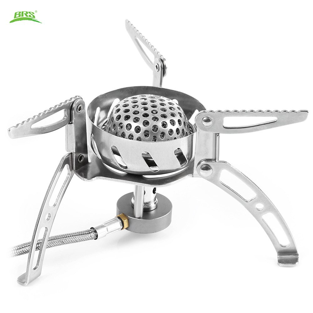 BRS - 108 Outdoor Camping Stove Windshield Burnner