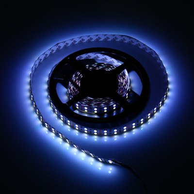 5M Double Row 5050 SMD 600 RGB White LED Strip Light