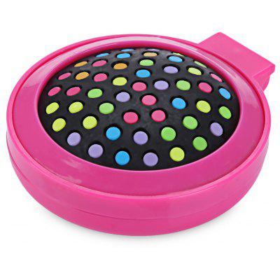 Rainbow Healthy Care Hair Massage Comb with Mirror