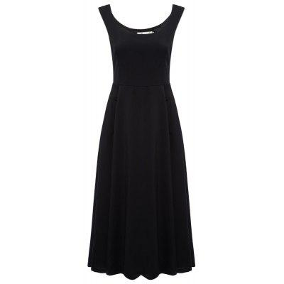 Elegant A-line Slim Women Sundress