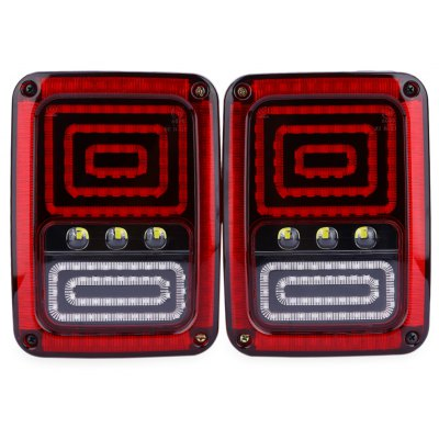 Paired OL - JT02 12V 18W LED Automobile Tail Light