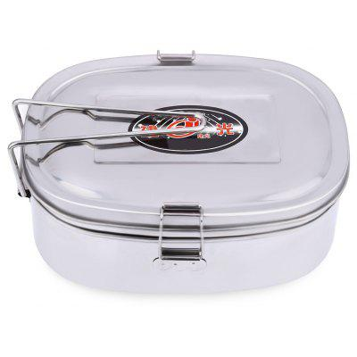 Jianguang Double Layer Stainless Steel Lunch Box