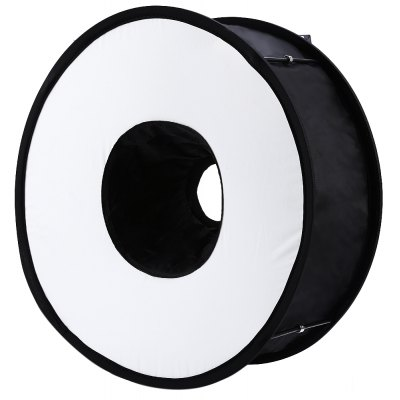45CM Portable Annulus Photography Light Speedlite Soft Box