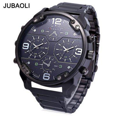 JUBAOLI Men Dual Movt Quartz Watch