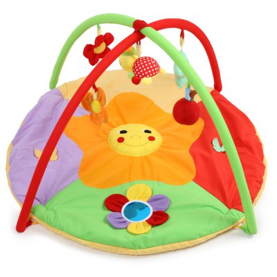 Buy COLORMIX Baby Soft Play Mat Sunflower Gym Blanket for $32.05 in GearBest store