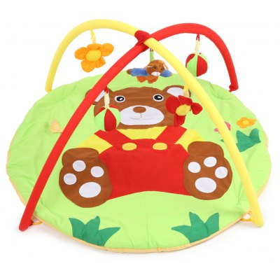 Baby Soft Play Mat Bear Blanket