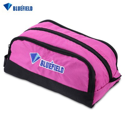 BLUEFIELD Water Resistant Cosmetic Bag Toiletry Packet