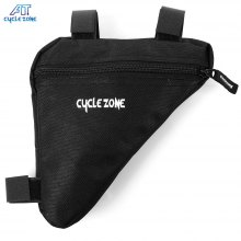 CYCLE ZONE Portable Mountain Bicycle Handlebar Triangle Bag